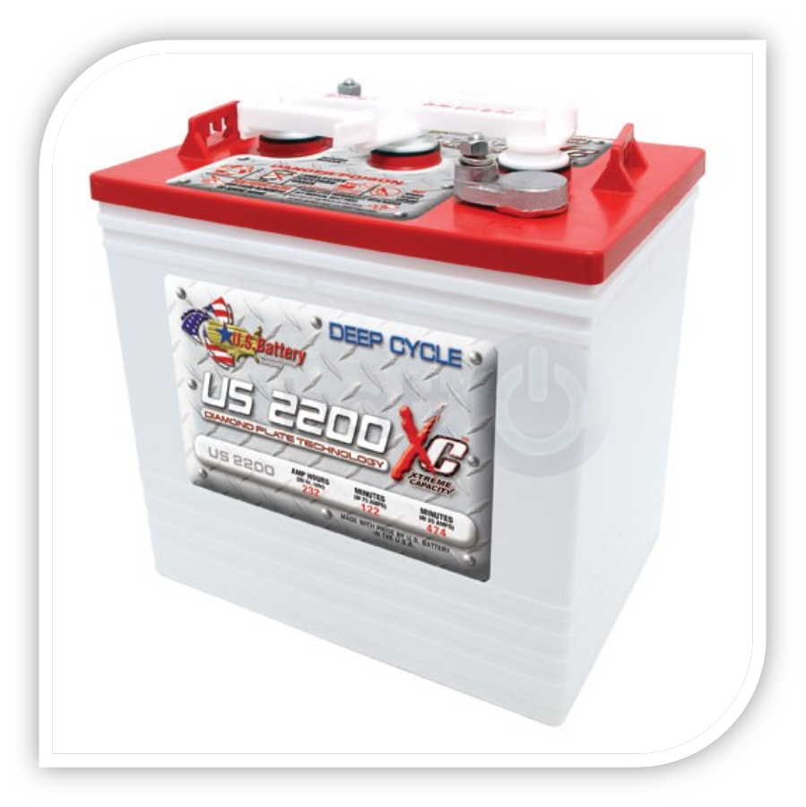 US BATTERY US 2200 US 2200 XC DEEP CYCLE
