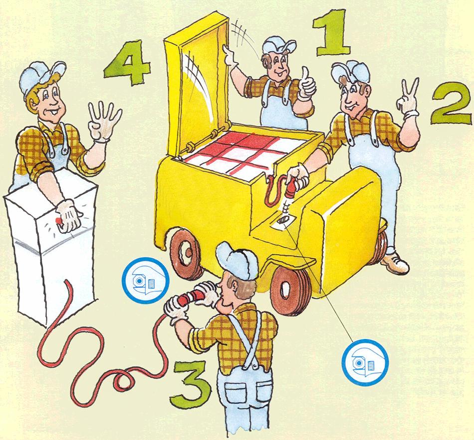 instructie elektrische palletwagen